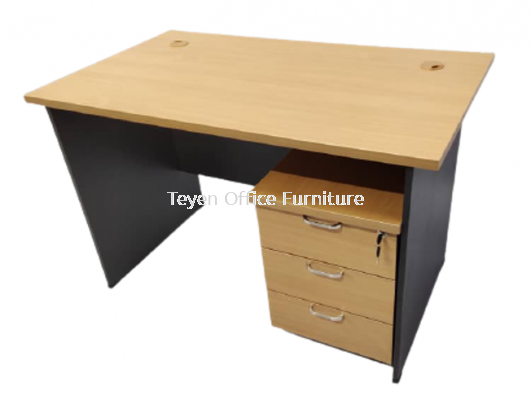 Writing Table With 3D Mobile Pedestal