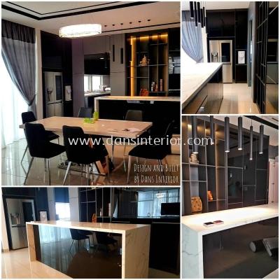 Kitchen Cabinets - Kinrara Residence @ Puchong