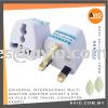 Universal International Multi Adapter Adaptor Socket 3 Pin UK Plug Type Travel Converter UKMP01 CABLE / POWER/ ACCESSORIES