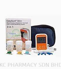 EasySure GCU Glucose, Cholesterol & Uric Acid Monitor System