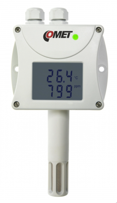 COMET T6440 Temperature, humidity, CO2 transmitter with RS485 interface