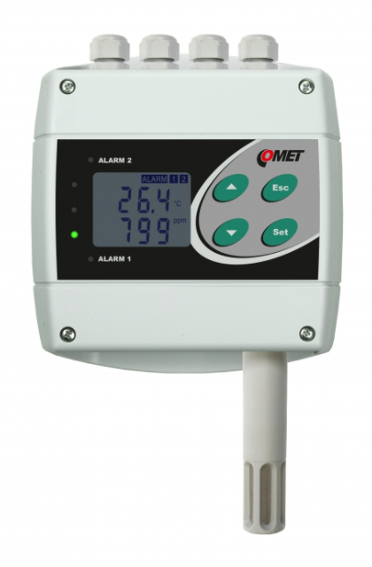 COMET H6320 Temperature, humidity, CO2 transmitter with two relay and RS232 outputs