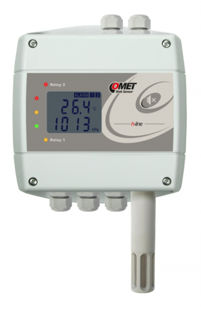 COMET H7530 Thermometer hygrometer barometer with Ethernet interface and relays