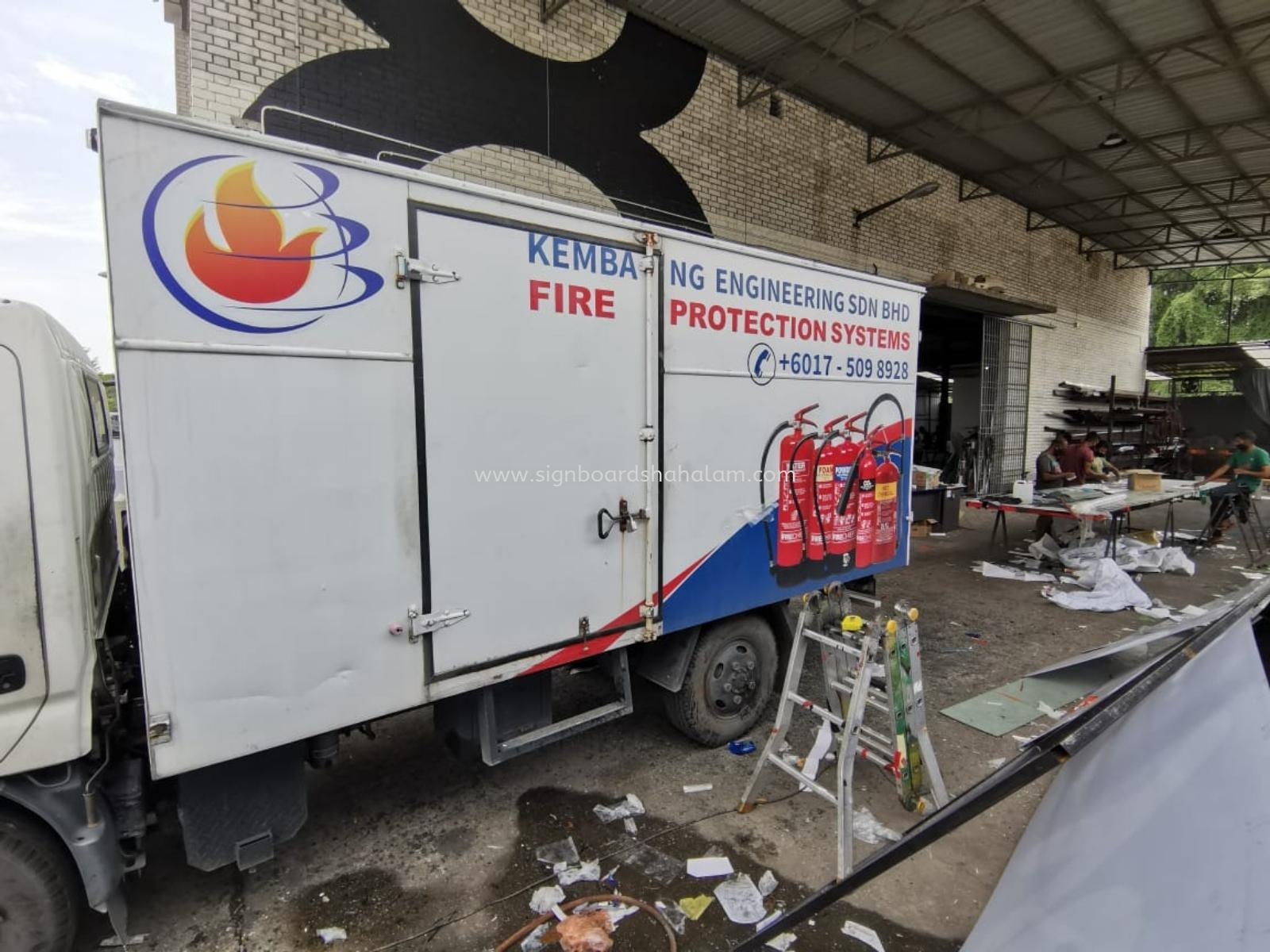 Kembang Engineering Klang - Truck Lorry Sticker