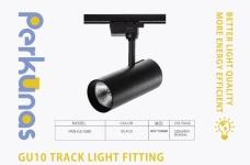 Perkunas GU10 LED Track Light Fitting