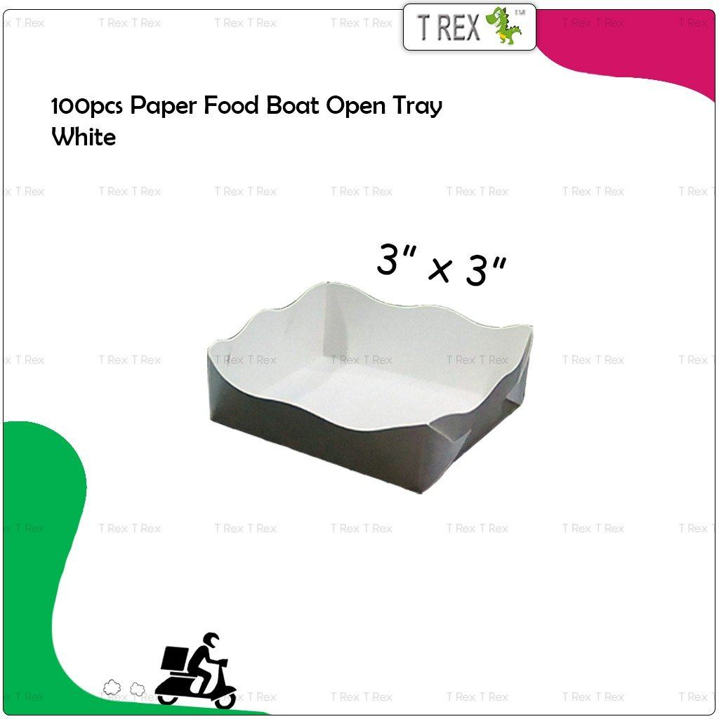 Paper Food Boat Open Tray