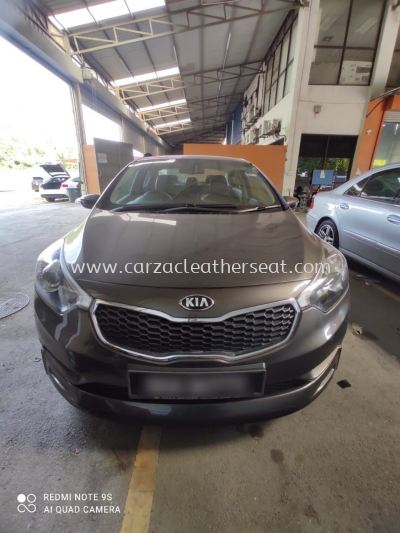 KIA CERETO STEERING WHEEL REPLACE LEATHER/STERING BALUT