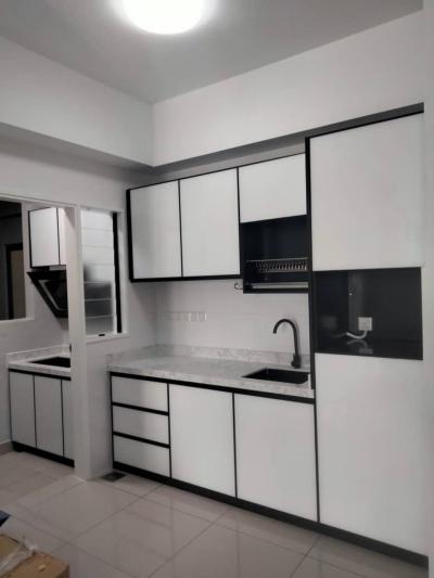 Serdang Malaysia aluminium kitchen cabinet