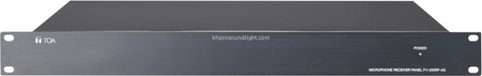 FV-200RF Microphone Receiver Panel