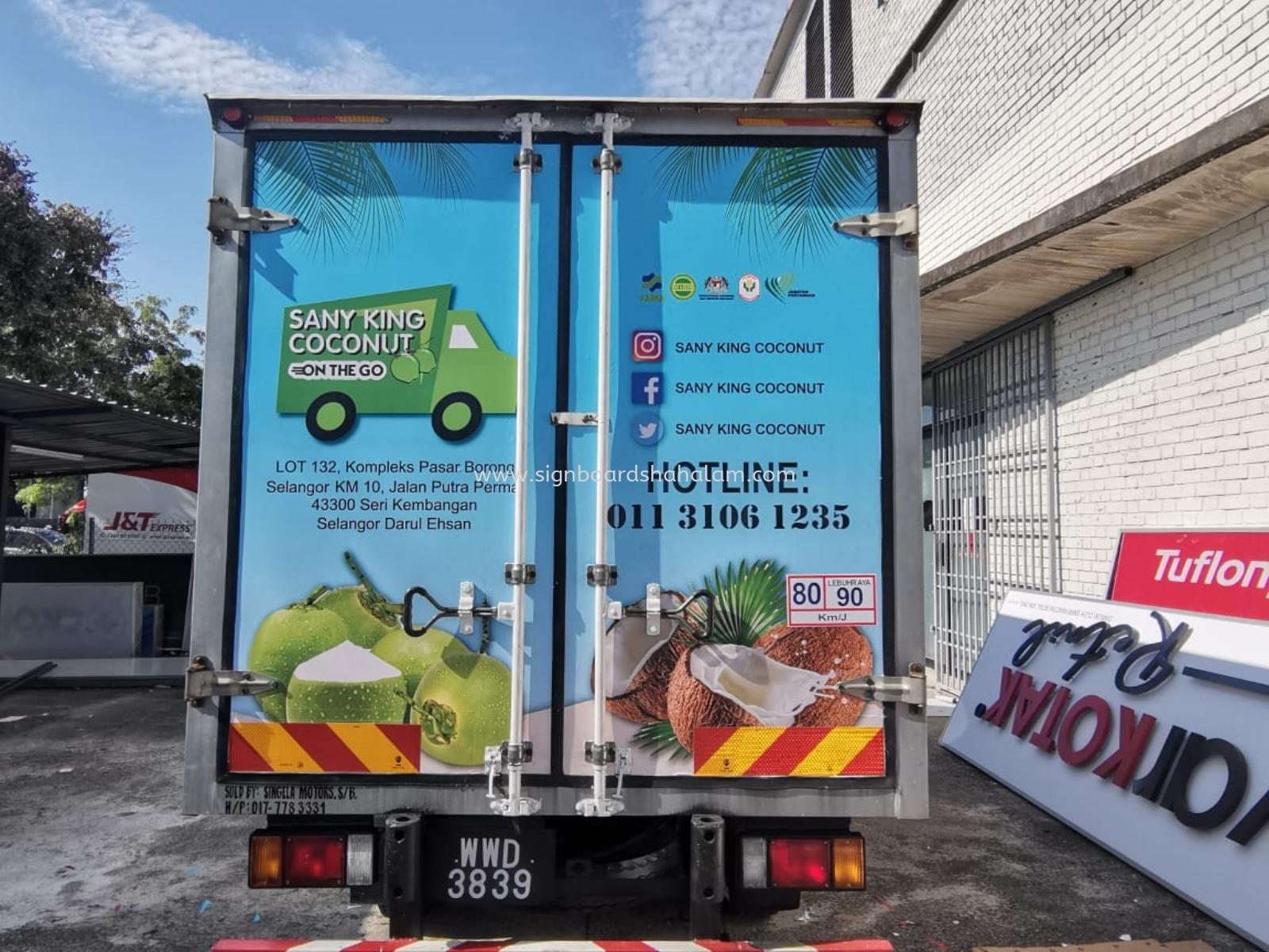 Suria Kristal Resources Klang  - Trucks Lorry Sticker