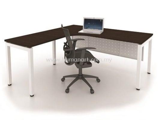MUKI L-SHAPE WRITING OFFICE TABLE/DESK - Tropicana   Taman Tun Dr Ismail   Bukit Damansara