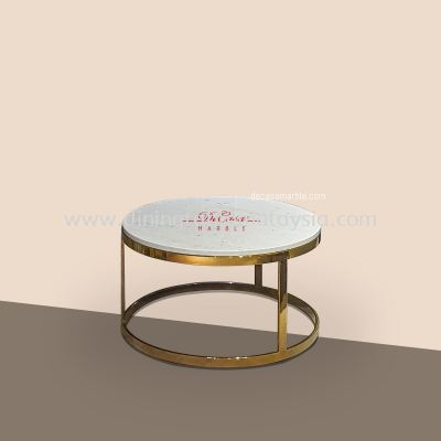 Sivec White (non-coat) | Marble Coffee Table | Cash & Carry | RM1599
