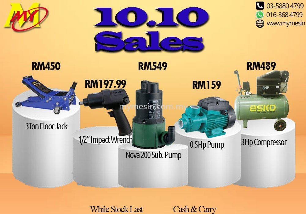 Mymesin 10.10 Promotion