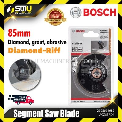 BOSCH 2608661689 ( ACZ 85 RD4) 85MM Diamond-Riff Segment Saw Blade (Diamond, grout, abrasive)