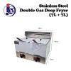 7L+7L Double Gas Deep Fryer Fryer Kitchen Appliances