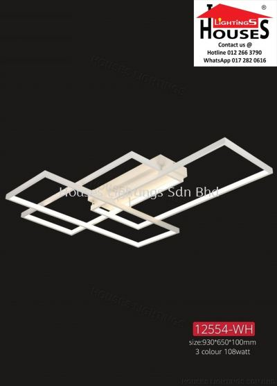 WALL 12554 WH 108W LED-3C