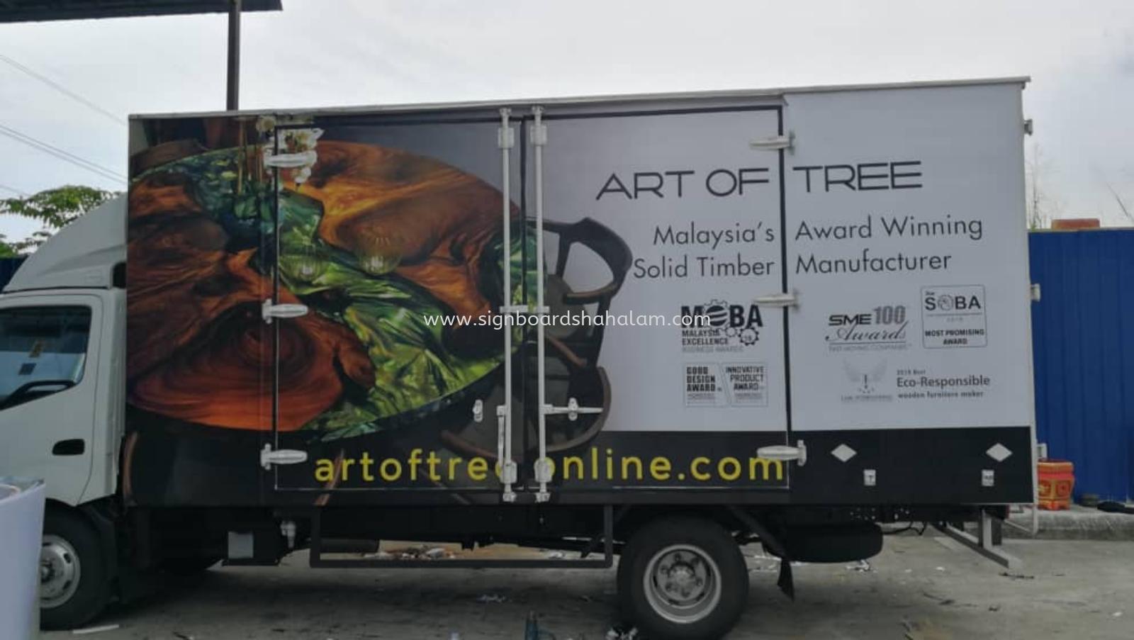 Art of Tree Klang - Trucks Lorry Sticker