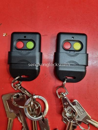 auto gate remote control