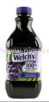 WELCH'S 100% GRAPE JUICE 1.36L WELCH'S Cordial / Base Beverages