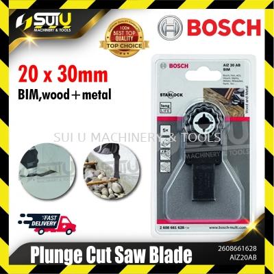 BOSCH 2608661628 ( AIZ 20 AB) 5PCS BIM Plunge Cut Saw Blade 20x30mm (Wood + Metal)