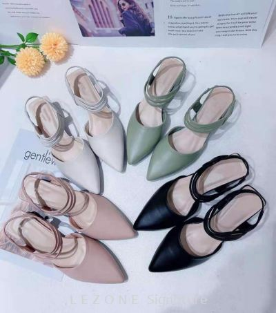 CT5349 Ankle Strap Point Toe Heel