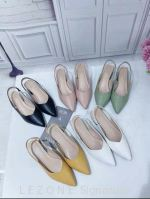 CT5344 Ankle Strap Point Toe Heel