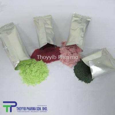 Powder in Sachet (3 grams - 30 grams)