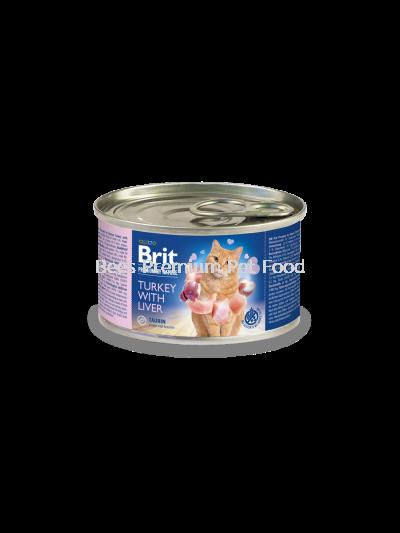 Brit Premium by Nature Turkey with Liver 200g
