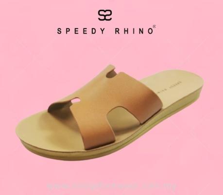 SPEEDY RHINO Lady Comfort Slipper SR-510010-12- BROWN Colour