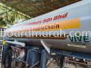 CSR LORRY STAINLESS TANKER -SHAH ALAM STAINLESS STEEL TANKER VEHICLE GRAPHIC