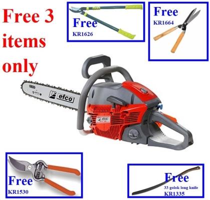 """FreeGifts- Italy EFCO MTH510 20"""" Petrol Chiansaw Guide Bar & Chain ID33075"""