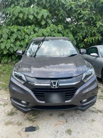 HONDA HR-V FULL SEAT REPLACE FROM FABRIC TO BROWN LEATHER