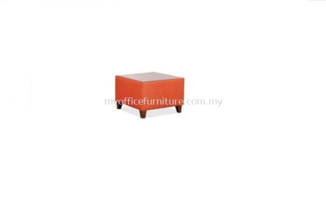 MY-CC61 SQUARE COFFEE TABLE WITH TEMPERED GLASS TOP (RM 720.00/UNIT)