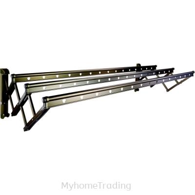 Balleno 2.0m Aluminium Wall Mount Drying Rack
