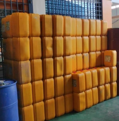 Used 20L 18L Yellow Jerry Can