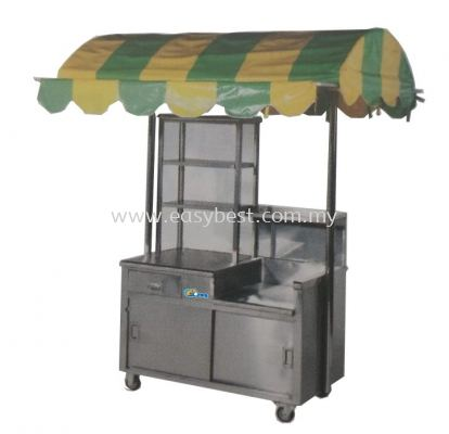 Burger Stall with Canopy + Hot Plate + Burner