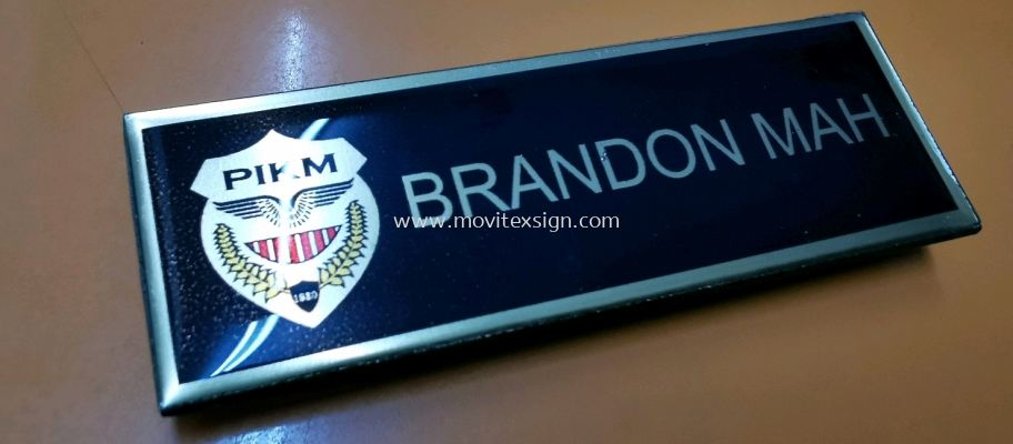 name tag n rubber Stamp