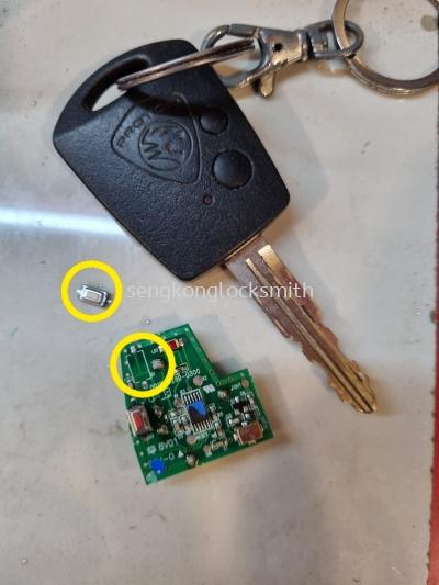 repair proton car remote cantrol