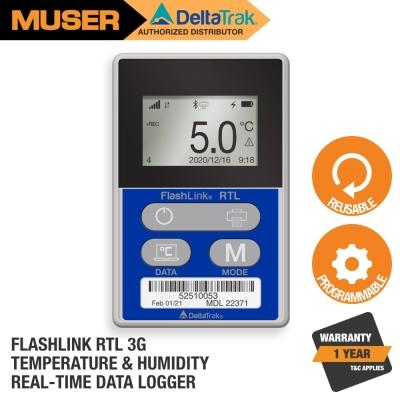 22371-02 FlashLink RTL 3G Temperature & Humidity Reusable Data Logger