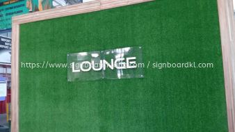 acrylic poster frame indoor signage signboard at kepong
