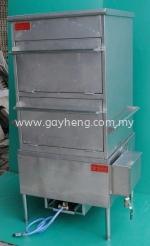 Stainless Steel Gas Steamer 白钢蒸炉(煤气)