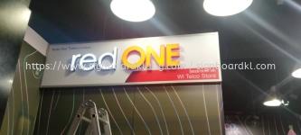 red one aluminium 3d led frontlit channel lettering signage signboard at kepong damansara mon kiara puchong kuala lumpur cheras