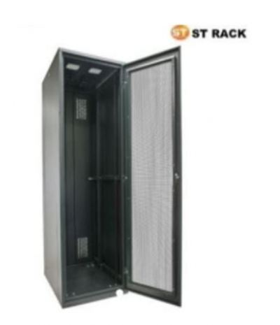STANDING RACK 800mm(W)x1000mm(D), Perspex / Perforated 42U