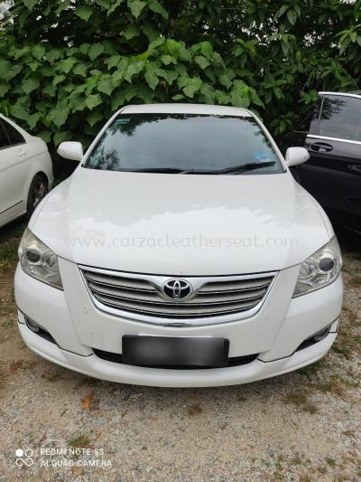 TOYOTA CAMRY STEERING WHEEL REPLACE LEATHER