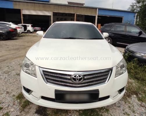TOYOTA CAMRY SEAT REPLACE LEATHER
