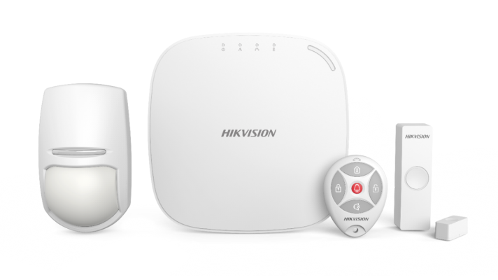 Hikvision 433MHz Wireless Control Panel Kits with Keyfob
