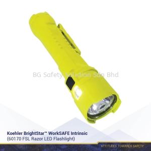Koehler BrightStar™ WorkSAFE Intrinsic 60170 FSL Razor LED Flashlight