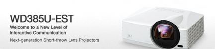 Mitsubishi WD385U Projector - (Mitsubishi) Communication Product