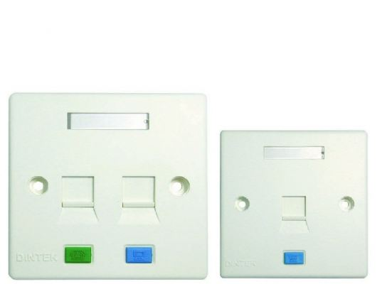 DINTEK Wallplate Outlet