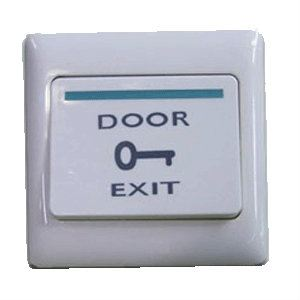 Exit Push Button - Green